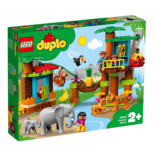 樂高積木 LEGO《 LT10906 》Duplo 得寶系列  - 熱帶島嶼╭★ JOYBUS玩具百貨