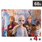 迪士尼 冰雪奇緣拼圖 60片拼圖 QFD45/一個入(促110) FROZEN 雪寶拼圖 Elsa (長方形/加厚) 幼兒拼圖