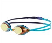 【線上體育】speedo 成人競技鏡面泳鏡 Vengeance Mirror 藍 SD811324C108