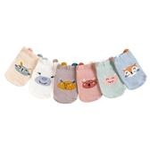 短襪 童襪 兒童純棉立體淺口小怪獸船襪地板襪-321寶貝屋