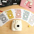 拍立得 mini8 相機個性潮流貼紙 機身貼紙 裝飾貼紙  5色 圓點 小花 Mini8 富士