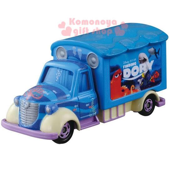 〔小禮堂〕海底總動員2 多莉 TOMICA小汽車《藍.宣傳車》經典造型值得收藏 4904810-86486