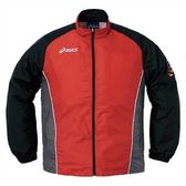 【ASICS 亞瑟士】防風防曬運動外套(紅*黑),3XL。XRK275-2391