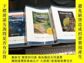 二手書博民逛書店Inquiry罕見into Life+chemistry+Col