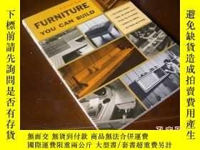二手書博民逛書店1967年罕見Furniture You Can Build 如