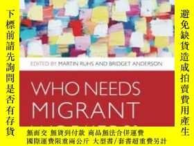 二手書博民逛書店Who罕見Needs Migrant Workers?: Lab