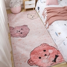 ins風少女臥室床邊地毯滿鋪可愛房間地墊子網紅同款家用可睡可坐 小時光生活館