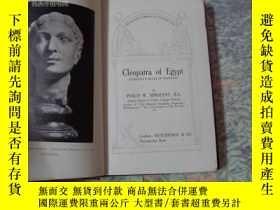 二手書博民逛書店cleopatra罕見of egypt(民國版)Y8088 lo