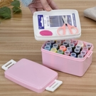 簡單愛 針線盒套裝家用便攜迷你針線縫補針線包收納整理箱大