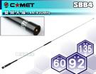 《飛翔無線》日本 COMET SBB4 雙頻天線〔無線電 車機 手持機 對講機 專用 144/430MHz 92cm〕