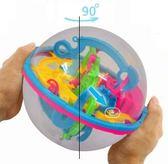 3D魔幻智力球立體迷宮299關軌道走珠玩具兒童禮物igo    韓小姐