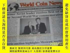 二手書博民逛書店World罕見Coin News(Vol.22,No.20)(S