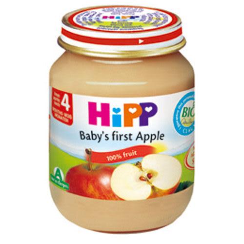 【奇買親子購物網】HiPP喜寶有機寶寶蘋果泥/1入