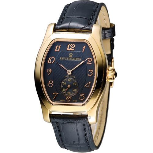 梭曼 Revue Thommen 古典情懷酒桶型經典腕錶 12015.2569
