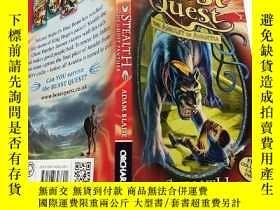 二手書博民逛書店stealth罕見the ghost panther:潛行幽靈豹.Y200392