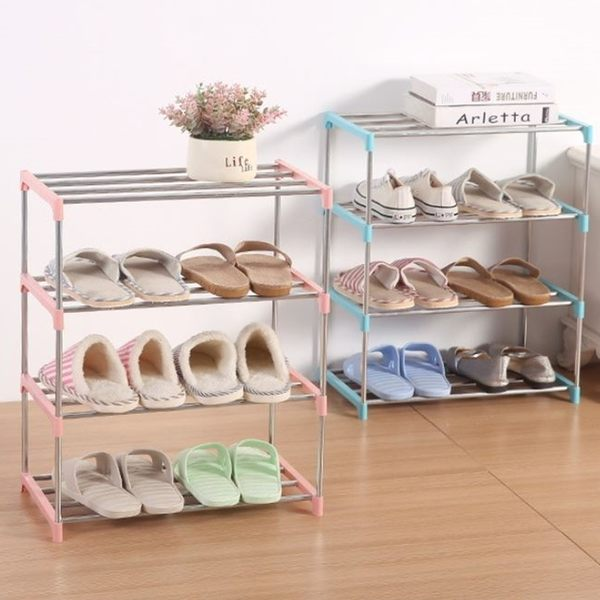 [拉拉百貨]組裝式鞋架 簡易經濟型 宿舍多層多功能鞋架 省空間鞋架組