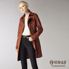 【新上市】高機能防風防水修身顯瘦風衣-1765WJ-紅棕色