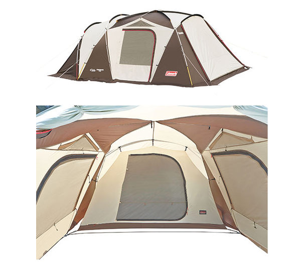 Coleman CM-22112  氣候達人露營帳篷 2-Room Std一房一廳帳/客廳帳/防蚊帳