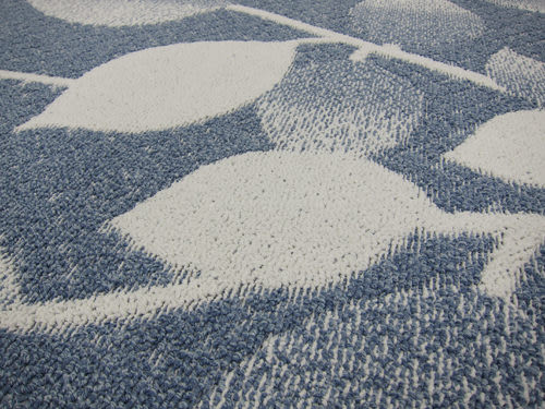 范登伯格-青田★日本抗菌柔美地毯-藍-80x150cm