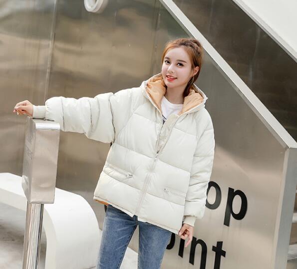 鋪棉外套棉衣外套短款面包服學生棉服寬松棉襖禦寒保暖(前500件虧本衝量,賣完漲價) 巴黎春天