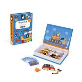 【法國 Janod】J02715 磁鐵遊戲書 交通工具