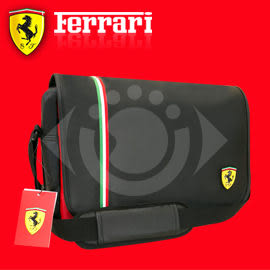 TF006A-B/R 義大利 超跑 法拉利 郵差包 紅/黑 側背包 郵差包 斜背包 休閒包 Ferrari 聖誕 送禮 禮品
