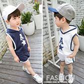 2018新款童裝兒童背心套裝1234567歲男童寶寶夏裝韓版潮衣小童夏-Ifashion