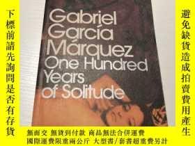 二手書博民逛書店One罕見Hundred Years of Solitude【百年孤獨 英文原版 馬爾克斯作品】Y237539