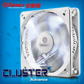保銳 ENERMAX  12公分 電腦風扇 勁冷白蝠進階版 UCCLA12P