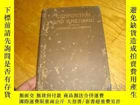 二手書博民逛書店1901年原版,COMPOSITION罕見AND RHETORI