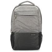 Calvin Klein 尼龍大容量後背包(灰色)103334