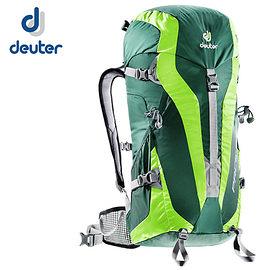 丹大戶外【Deuter】德國 PACE 30 超輕量旅遊登山健行背包 登山旅遊/出外背包 3300315 深綠/綠