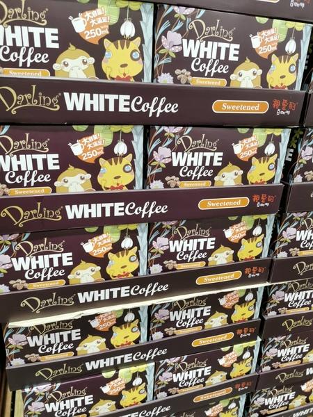 親愛的白咖啡 三合一 30g x 80包 有糖咖啡 即溶咖啡 沖泡 隨身包 熱飲