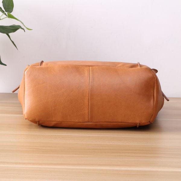 時尚手工牛皮三用包 托特包 手提包【Solomon 皮件設計】
