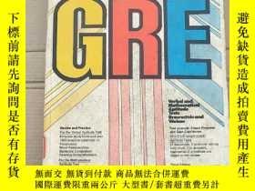 二手書博民逛書店barron s罕見how to prepare for the graduate record examinat