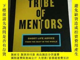 二手書博民逛書店Tribe罕見of Mentors: Short Life Ad