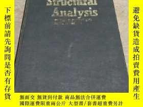 二手書博民逛書店統一古典與矩陣法的結構分析structural罕見analysis a unified classical and