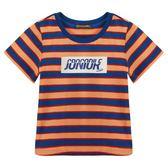 『小鱷魚童裝』印花條紋T恤(02號~08號)533431