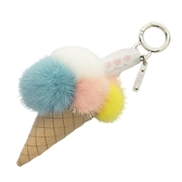 FENDI 冰淇淋貂毛球吊飾 ICE CREAM CHARM  【BRAND OFF】