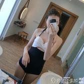 泳裝關于韓版連體簡單保守顯瘦遮肚小胸聚攏鋼托泡溫泉性感女 爾碩數位
