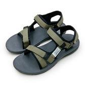 LIKA夢 LOTTO 輕量流行織帶運動涼鞋 街頭流行時尚系列 亞麻灰 6135  男