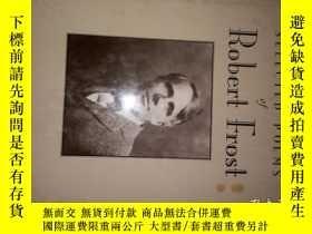 二手書博民逛書店英文原版《Robert罕見Frost》(16開精裝,扉頁有英文籤
