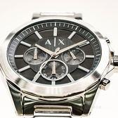 A/X Armani Exchange 亞曼尼 AX2600 率性線條三眼腕錶 熱賣中!