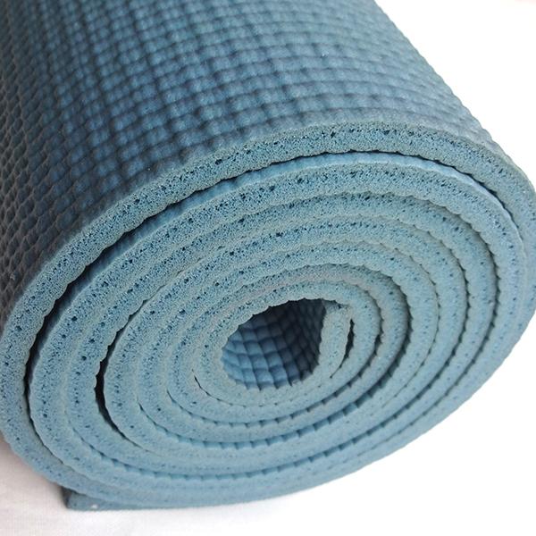 easyoga 瑜珈墊 專業花草瑜珈墊 6mm - 藍色