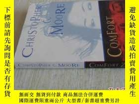 二手書博民逛書店英文原版罕見Comfort ZoneY7215 Christopher G. Moore Heaven Lak