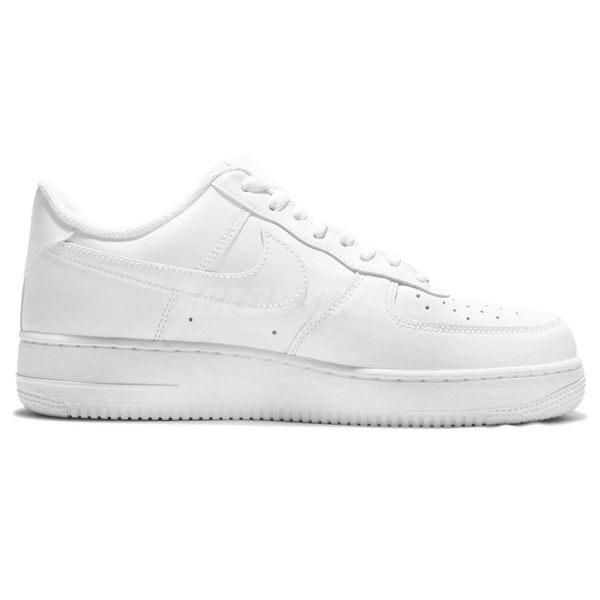 Nike 休閒鞋 Air Force 1 07 全白 AF1 運動鞋 男鞋【PUMP306】 315122-111