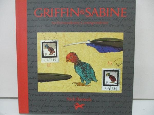 【書寶二手書T8/原文書_DQK】Griffin and Sabine-An Extraordinary…_Bantock