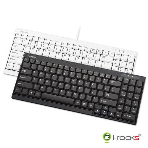i-Rocks KR6523 超薄迷你鍵盤 -黑