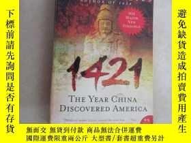 二手書博民逛書店英文書:1421罕見THE YEAR CHINA DISCOVERED AMERICA 共649頁 16開 詳見圖