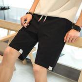 夏季五分男士運動短褲休閑韓版潮流修身薄款貼布沙灘褲 QQ2084『MG大尺碼』